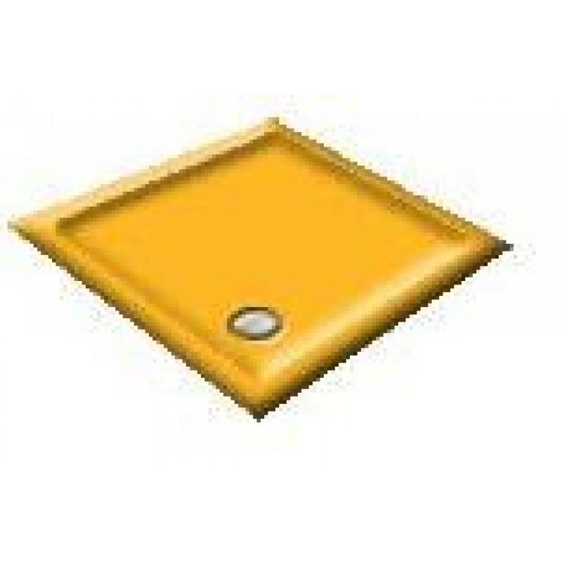 1200 Harvest Gold Offset Pentagon Shower Trays