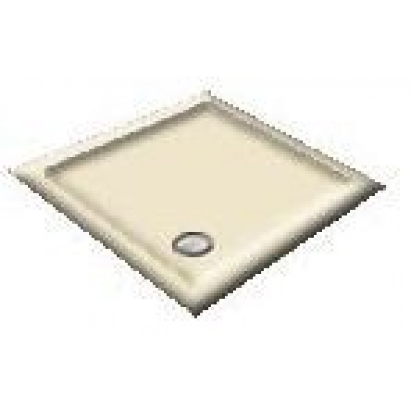 1200 Ivory Offset Pentagon Shower Trays