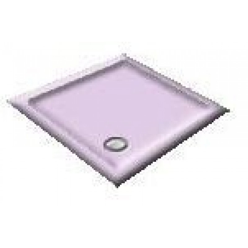 1400 Orchid  Offset Pentagon Shower Trays