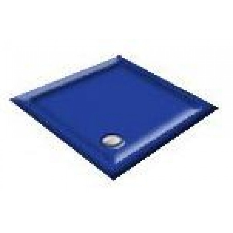 900X800 Penthouse Blue Offset Quadrant Shower Trays