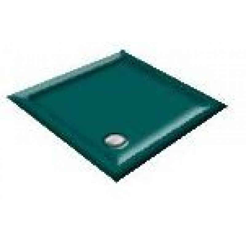 900X800  Penthouse Green Offset Quadrant Shower Trays