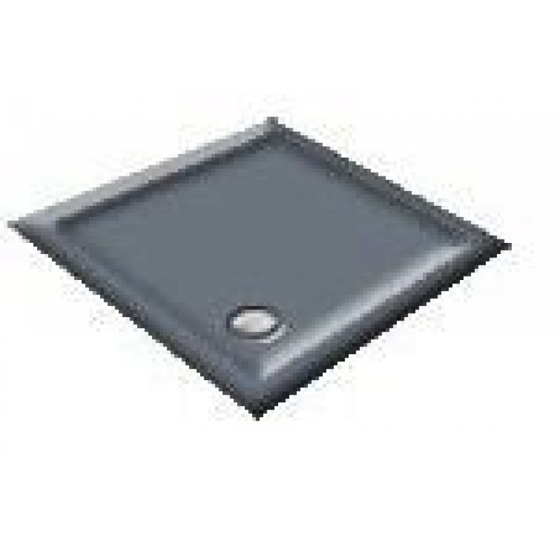 900X760 Pewter Offset Quadrant Shower Trays