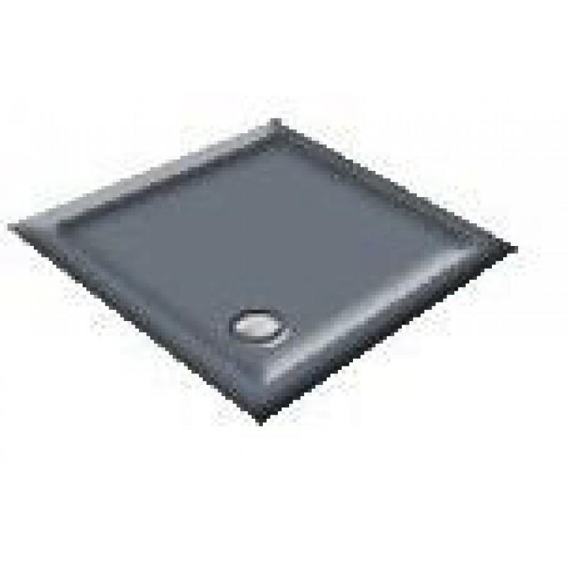 900X800 Pewter Offset Quadrant Shower Trays