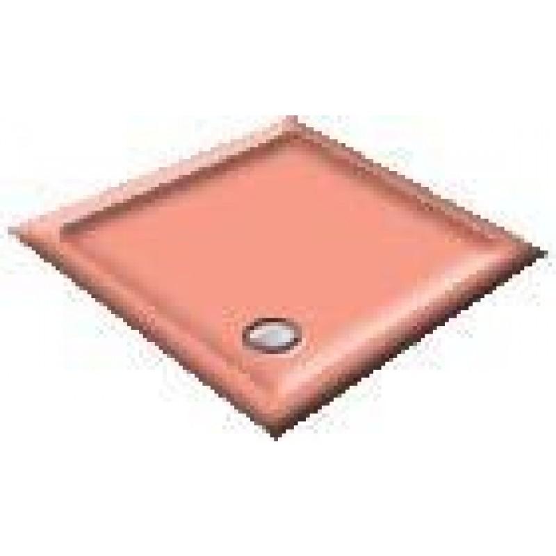 900X800 Pompadour Offset Quadrant Shower Trays