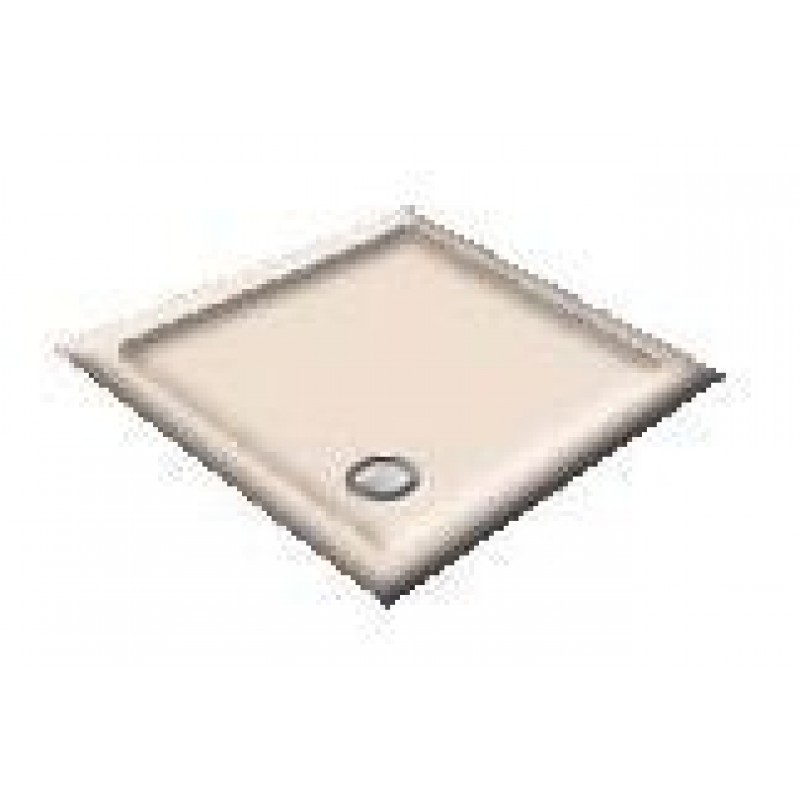 900X800 Rose Water Offset Quadrant Shower Trays