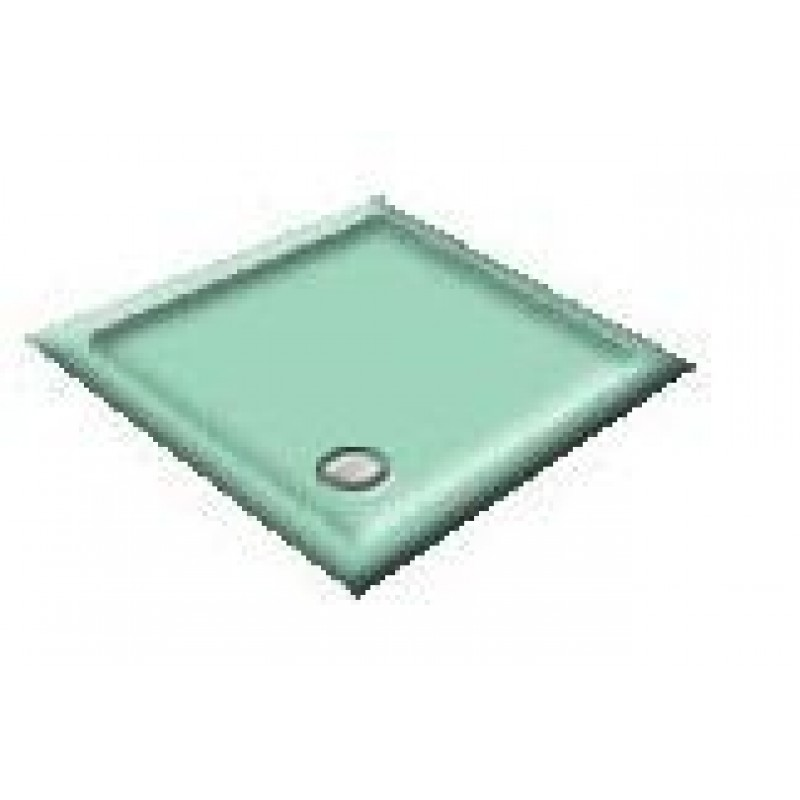 900X760 Sapphire Blue Offset Quadrant Shower Trays