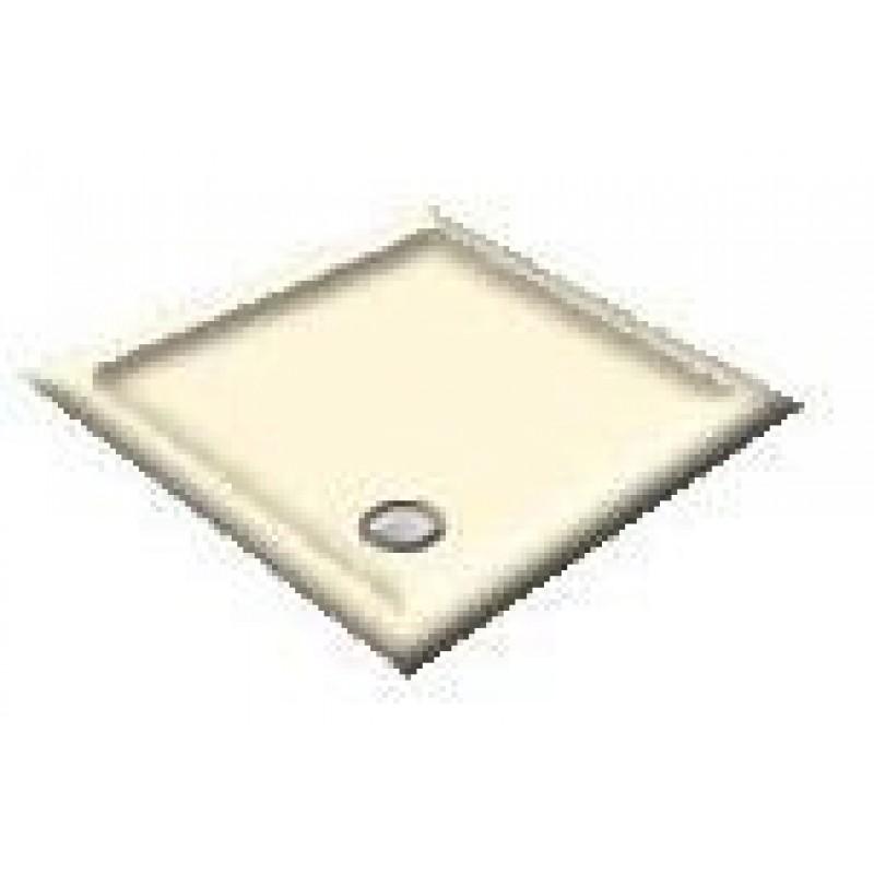 900X800 Old English White Offset Quadrant Shower Trays