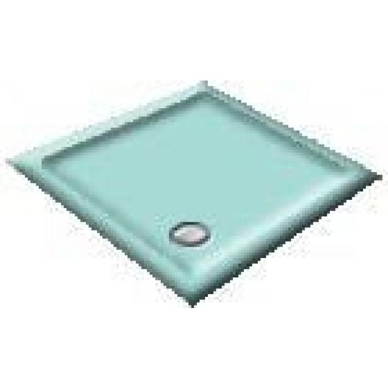 1000X800 Turquoise Offset Quadrant Shower Trays