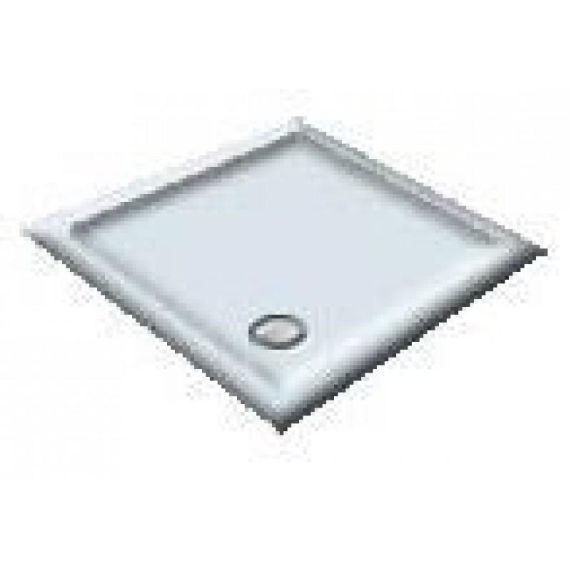 900X760 Whisper Blue Offset Quadrant Shower Trays