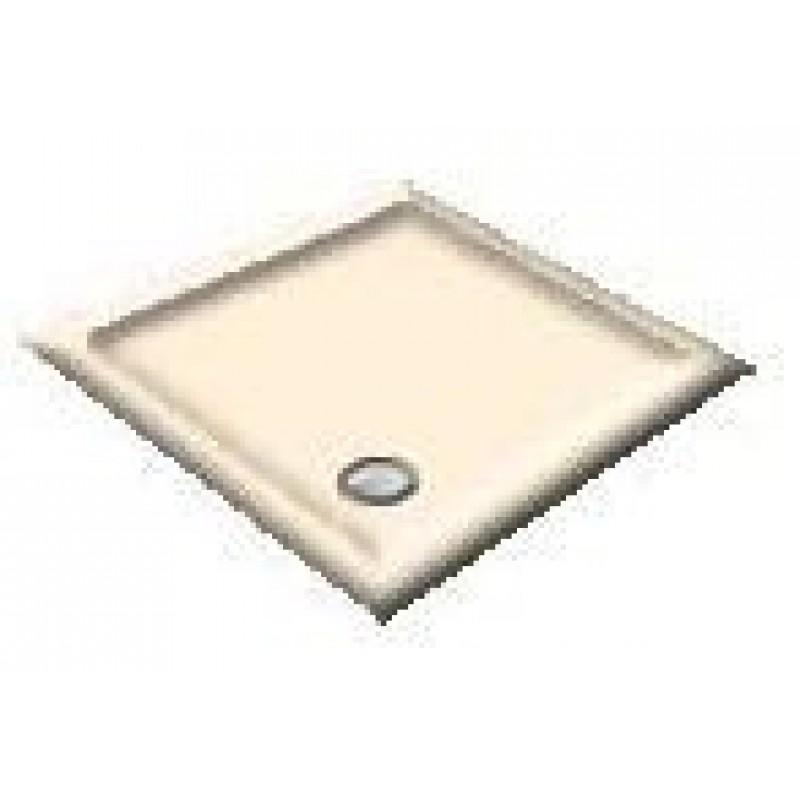 900X760 Whisper Creme Offset Quadrant Shower Trays