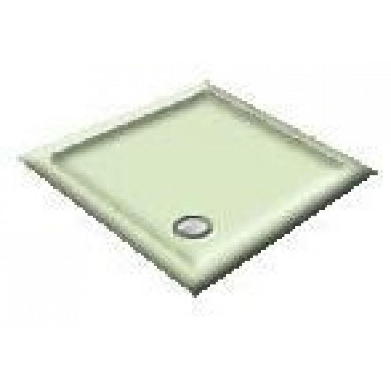 1200X900 Whisper Green Offset Quadrant Shower Trays