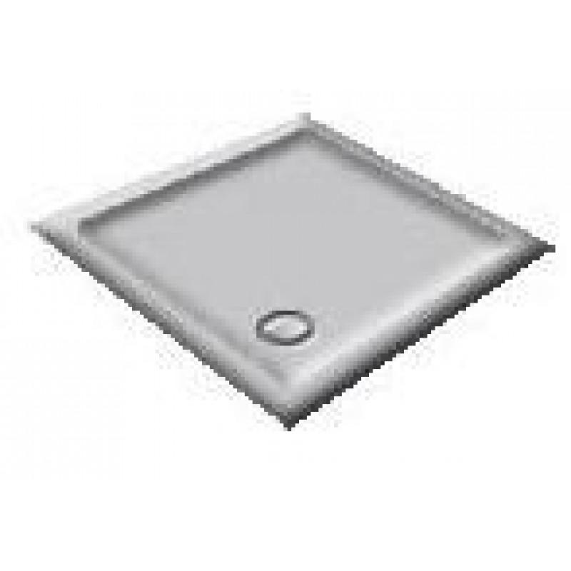 1000X800 Whisper Grey Offset Quadrant Shower Trays