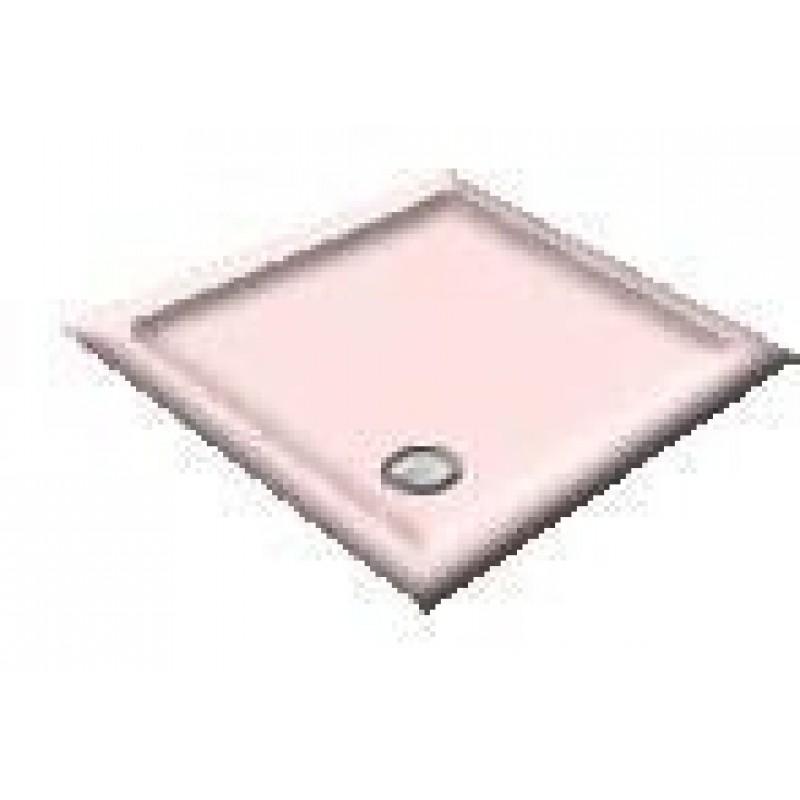 900X800 Whisper Pink Offset Quadrant Shower Trays