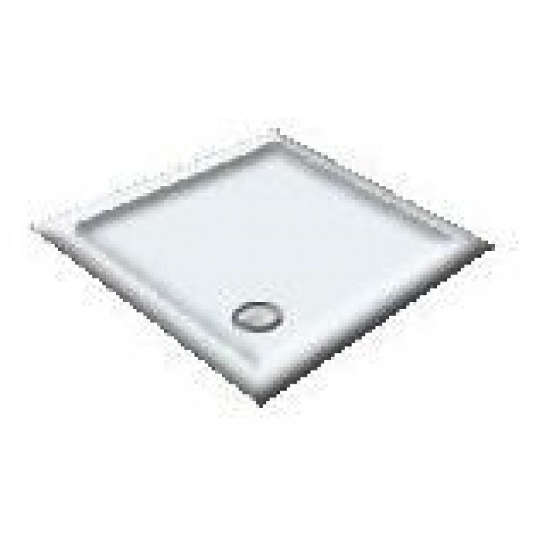 900X800 White/Indian Pearl Offset Quadrant Shower Trays