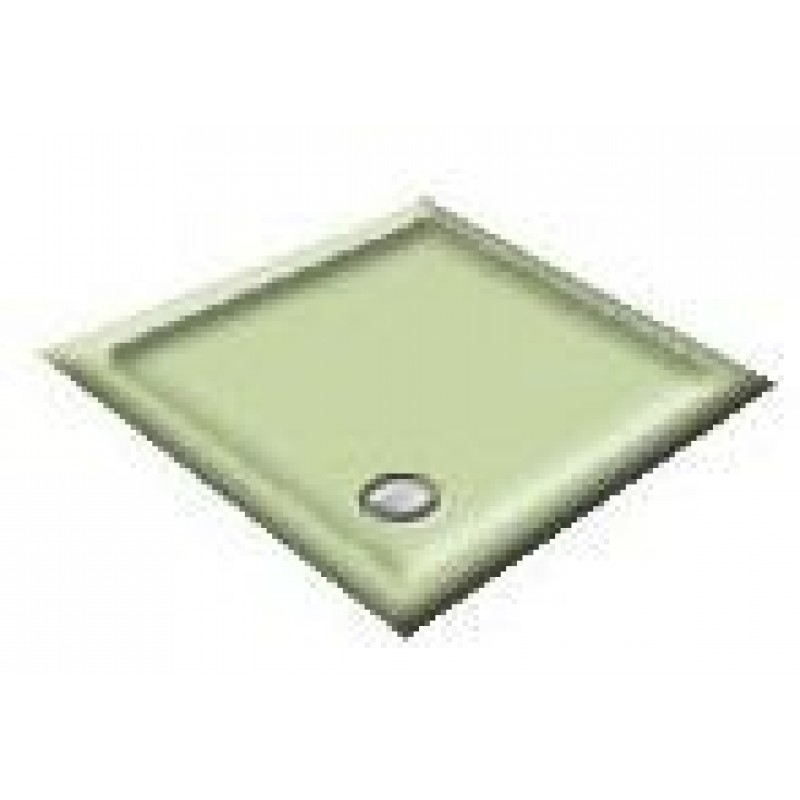 900X800 Willow Green Offset Quadrant Shower Trays