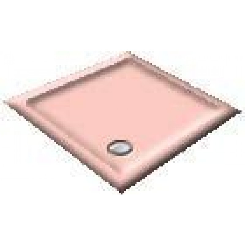 1000X800 Rose Offset Quadrant Shower Trays