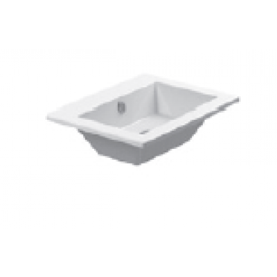 58 New Washbasin 0 or 1 tap holes