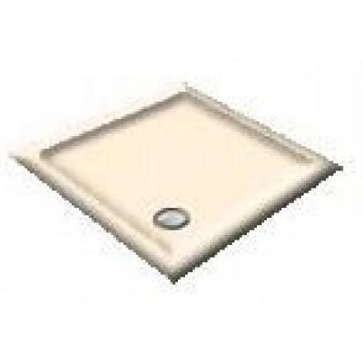900X800 Whisper Creme Offset Quadrant Shower Trays