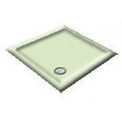 1000X800 Whisper Green Offset Quadrant Shower Trays