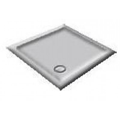 1200X900 Whisper Grey Offset Quadrant Shower Trays