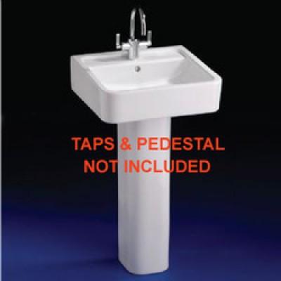 CUBE Basin 1 taphole - White