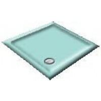 900X800 Turquoise Offset Quadrant Shower Trays