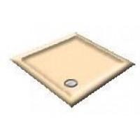 1200X800 Whisper Apricot Offset Quadrant Shower Trays