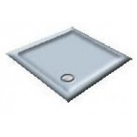 800 White/Blue Delft Quadrant Shower Trays