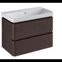 Base 2 drawers-Gloss white / matt colours / pearl / metallic colours L75