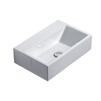 55 Washbasin 0, 1 or 3 tap holes