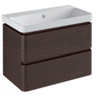 Base 2 drawer Glossy colours / Wood L -75