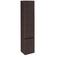 Tall Cabinet 2 doors-Gloss white / matt colours L35