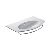 80 Washbasin 0, 1 or 3 tap holes-White satin