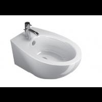 57 New Wall-hung bidet 1 tap hole-White satin