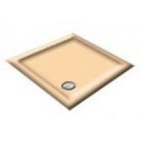 900x800 Almond Rectangular Shower Trays