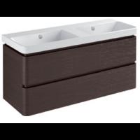 Base 2 drawers Gloss white / matt colours - L 120
