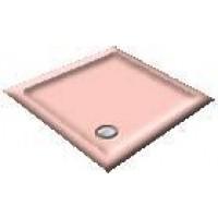 1000 Rose Pentagon Shower Trays