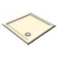 900x800 Creme Rectangular Shower Trays