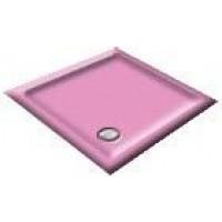 900x800 Flamingo Pink Rectangular Shower Trays