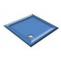 1000 Alpine Blue Pentagon Shower Trays