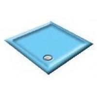 1000 Pacific Blue Pentagon Shower Trays