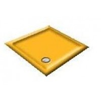 900x800 Harvest Gold Offset Quadrant Shower Trays