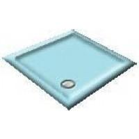 1000 Sapphire Blue Pentagon Shower Trays