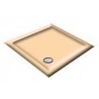 900x800 Almond Offset Quadrant Shower Trays