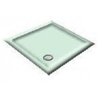1000x800 Apple/Light Green Offset Quadrant Shower Trays