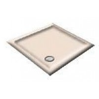 900x760 Coral Pink  Offset Quadrant Shower Trays