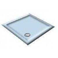 900x800 Cornflower Offset Quadrant Shower Trays