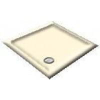 900x800 Creme Offset Quadrant Shower Trays