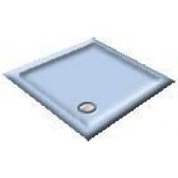 1200 Armitage Blue Offset Pentagon Shower Trays