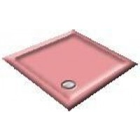 1400 Cameo Pink Offset Pentagon Shower Trays
